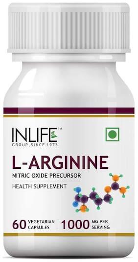 Inlife L-Arginine 1000 mg 60 Capsules