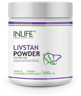 INLIFE Livstan Protein Powder, Whey with Ayurvedic Herbs (300g)