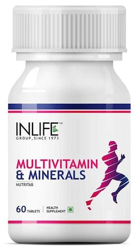 Inlife Multivitamin And Multiminerals 60 Tablets