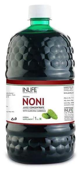 INLIFE Noni Juice Concentrate With Garcinia Cambogia & Aloe Vera (1 ltr)