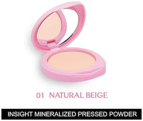 Insight Cosmetics Mineralized Pressed Powder SPF 24 - Natural Beige 9g (Pack of 1)