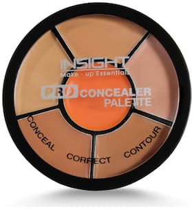Insight Cosmetics Pro Concealer Palette - Concealer 15g (Pack of 1)