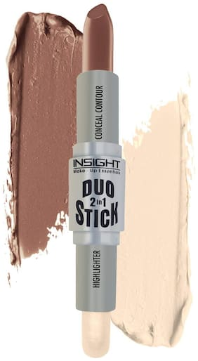 Insight Cosmetics Duo Stick Conceal Contour + Highlighter - 8.5g(Shade-03)
