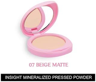 Insight Cosmetics Mineralized Pressed Powder SPF 24 - Beige Matte 9g (Pack of 1)