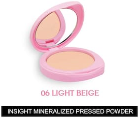 Insight Cosmetics Mineralized Pressed Powder SPF 24 - Light Beige 9g (Pack of 1)