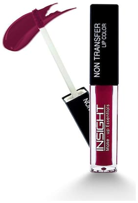 Insight Non Transfer liquid Matte Lip Color Maroon 4 ml Pack of 1