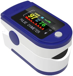 Introvert Oximeter Premium Finger Pulse Oxygen Monitor with LED Display ( Pack of 1 )