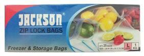 Jackson Zip lock Bag - Large 100 g