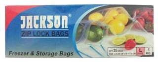 Jackson Zip lock Bag - Large 100 g