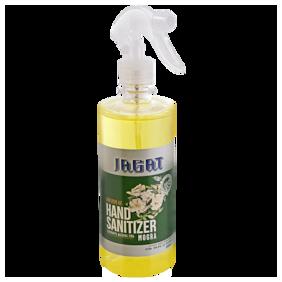 Jagat Herbal Hand Sanitizer Pure and Natural with Mogra & 70% Isopropyl Alcohol Based Formula - 500 ml