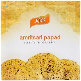 JAGS Handmade  Best Quality  Amritsari Papad Medium Spicy Flavor 250 Gms