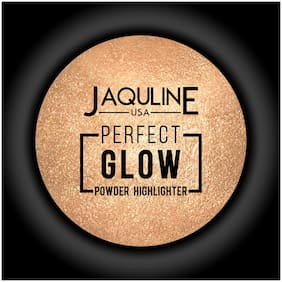 Jaquline USA Perfect Glow Powder Highlighter Gold 5 g Pack of 1