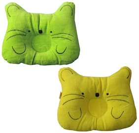 JARS Collections Soft and Comfortable Baby Pillow (Pack of 2)