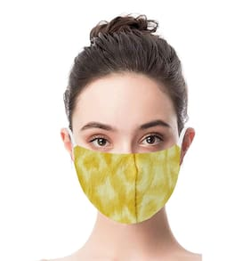 Jars Collections Stylish Anti Pollution Designer Mask (Assorted)