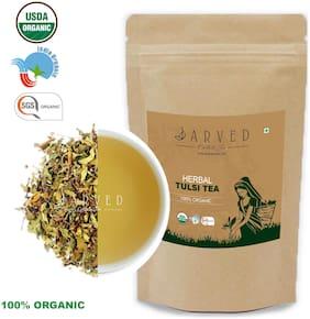 Jarved Organic Herbal Tulsi Tea 45 Day Herbal Detox,Premium Grade 100g (Pack of 1)