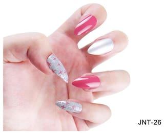 Buy jay joy designed fake nail tips DIY nail art Online at Low ...
