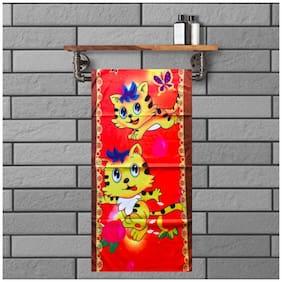 JBG Home Store  BabyTowel Design  Medium Multicolor Soft Terry Cotton Kids Towel (Pack Of 1)