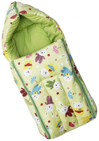 JBG Home Store Soft and Comfortable Zippered Baby Sleeping Bag ( Pack of 1 )