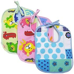 JBG Home Store (3 printed Bib 5) Waterproof Baby Feeding Bib(Pack of 3)