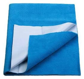 JC ( Jaipur Crafts ) Instadry Extra Absorbent Dry Sheet/Bed Protector/Waterproof Baby Dry Sheet (Firoji Color) Medium (99.06 cm x 71.12 cm x 0.5 cm )