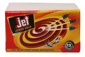 Jet Mosquito Coil - Jumbo Gold 50 gm