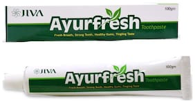 JIVA Ayurfresh toothpaste 100g(Pack of 3)