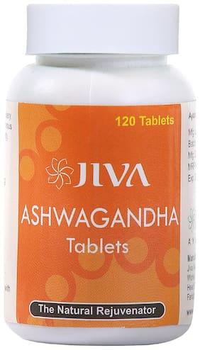 Jiva Ayurveda Ashwagandha Tablets 120 tablets Pack of 4 Immunity/Immunity Booster