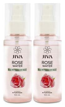 Jiva Rose water plain Pack of 6
