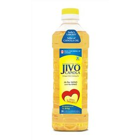 Jivo Canola Refined Oil 1Ltr (Pack Of 2)