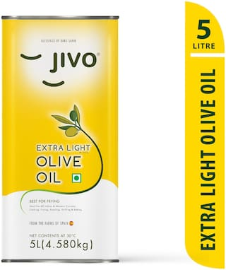 Jivo Extra Light Olive Oil 5 L (Pack Of 1)