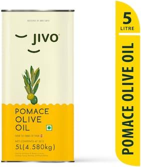 Jivo Pomace Olive Oil 5 L (Pack Of 1)