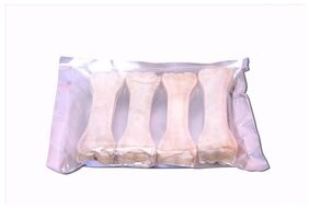 JKM  PETHUB FRESH QUALITY BONES 4 INCHES 4 PIECES PACK