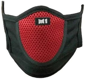 JMO27Deals Anti Pollution Face Mask, Washable Dustproof Masks, Reusable Mouth Cover Respirator For Outdoor Sports, Gardening, Travel, Craftsman Resist Dust, Germs, Pollution Pack of 1