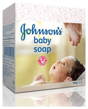 Johnson & Johnson Baby Soap (Pack of 3; 100 g each)