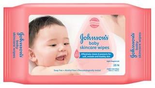 Johnson & Johnson Baby skincare wipes 20 pcs