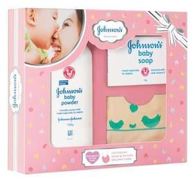 Johnson's Baby Care Collection - with Organic Cotton Bib 3 pcs