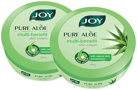 Joy Pure Aloe Multi Benefit Skin Cream With Natural Skin Moisturisers;For All Skin Type -200ml (Pack of 2 )