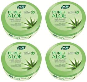 Joy Pure Aloe Multi-Benefit Skin Cream 800 ml (Pack of 4 X200 ml)