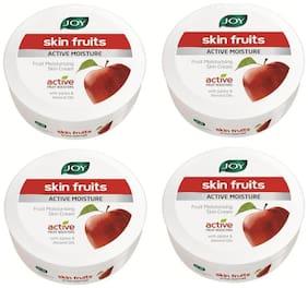Joy Skin Fruits Active Moisture Fruit Moisturising Skin Cream 800 ml (Pack of 4 X200 ml)
