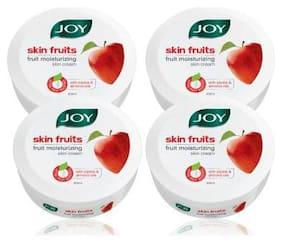 Joy Skin Fruits Active Moisture Fruit Moisturising Skin Cream 200 g each Pack of 4