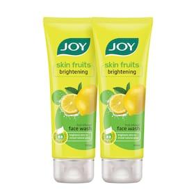 Joy Skin Fruits Active Brightening (Lemon) Face Wash (Pack Of 2 X 100 ml)