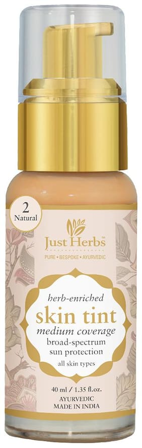 Just Herbs Just Herbs Skin Tint- 2 - Natural 40 ml Pack Of 1