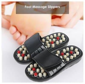 k kudos 1pair Foot Massage Slippers Revolving Polka-dot Pedicures Health Care