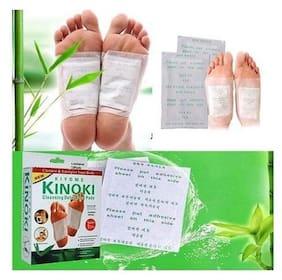 K Kudos Enterprise 20pcs=10 Pairs Foot Pads GOLD Premium Kinoki Detox Organic Herbal Cleansing Patches