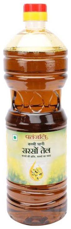 Patanjali Kachi Ghani Mustard Oil 1 L