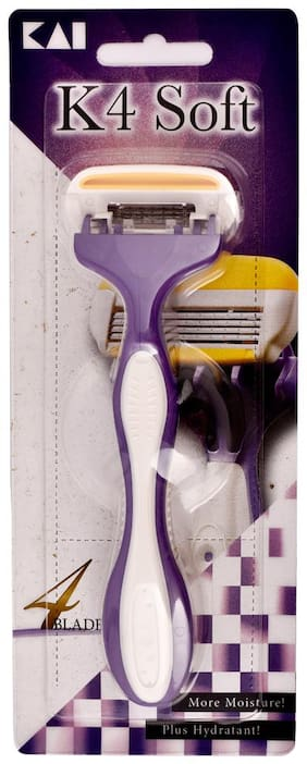 Kai_K4 Soft_4 blade razor for women