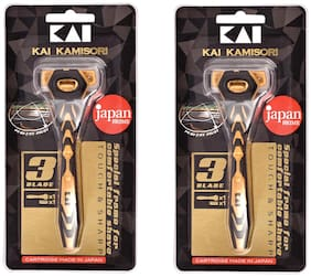 Kai_K3 3 blade razor for men_pack of 2