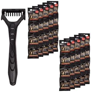 Kai_ Kamisori 1 blade razor for men + 1 Blade razor cartridge 40 pcs
