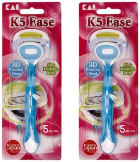 Kai_K5 Ease Razor for women_Pack of 3