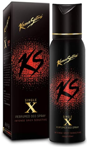 Kamasutra Single X Perfumed Deo Spray - 120 ml